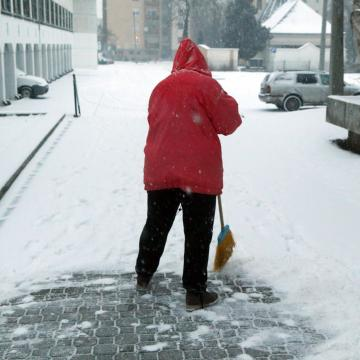 Havazás és ónos eső – figyelmeztetés térségünkben