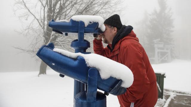 Havazás - Kékestetőn már fél méter körüli a hóvastagság