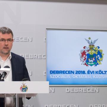Debrecen 2018. évi költségvetése
