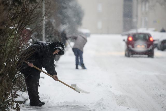 Folytatódik a lehűlés, többfelé várható havazás, hófúvás