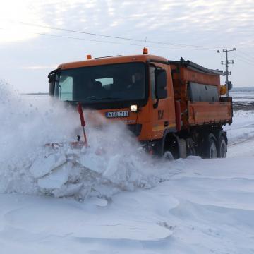 Már többfelé másodfokú a riasztás a hófúvás veszélye miatt