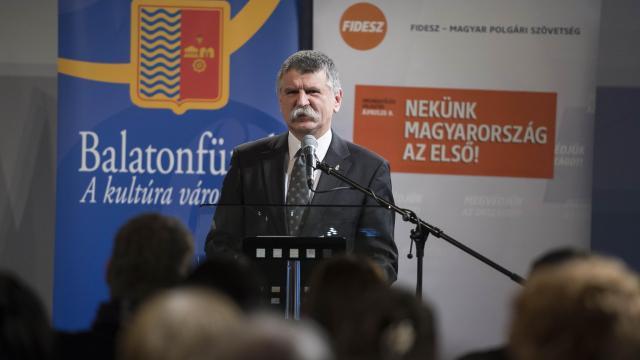 Kövér László Balatonfüreden: a választás tétje a kormány által megkezdett út folytatása