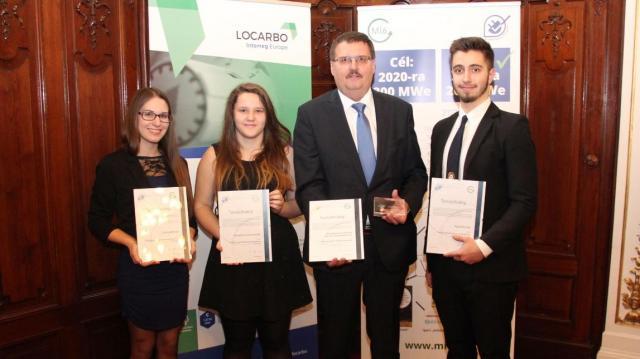 Négy térségi diák is az év energiahatékonysági menedzsere lett