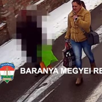 Segítséget ajánlott, majd lopott – Keresi a tolvajnőt a rendőrség – VIDEÓVAL