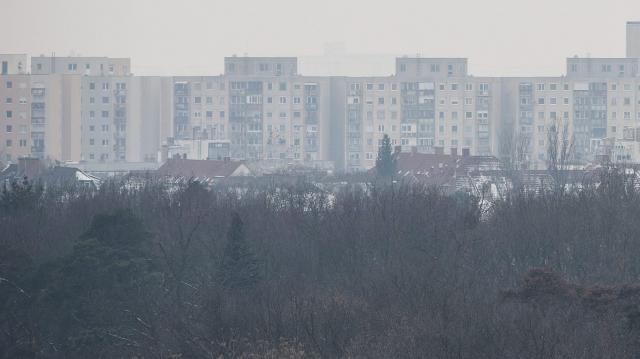 Szombathelyen, Várpalotán és Vác kifogásolható a levegő minősége