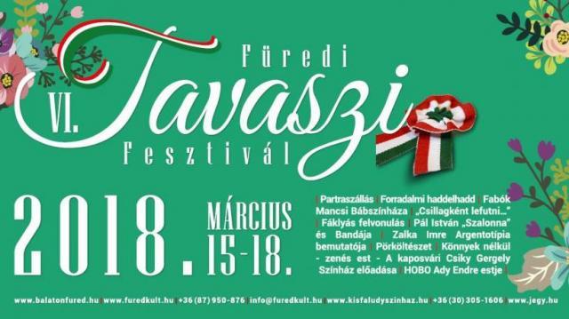Zenei és irodalmi programokkal kezdődik a Füredi Tavaszi Fesztivál