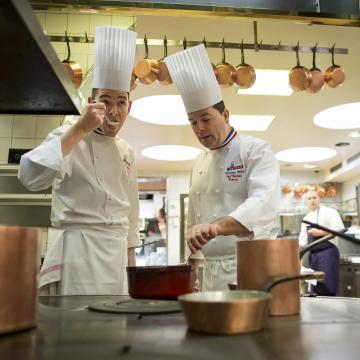 Francia menü országszerte huszonöt étteremben