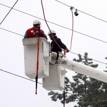 Havazás - Folyamatosan csökken az áram nélkül maradt települések száma Hajdú-Bihar megyében