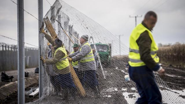 Illegális bevándorlás - A magyarok 82 százaléka támogatja a határkerítést