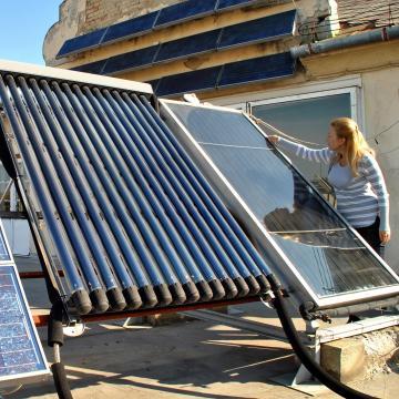 Mától igényelhető napkollektoros, hőszivattyús fűtésfejlesztésekre támogatás