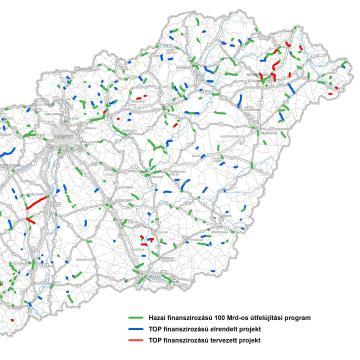 1200 kilométernyi út teljeskörű felújítása kezdődik