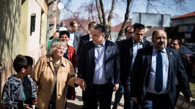 Orbán Viktor a szavazáson részvételre buzdított Vajszlón - VIDEÓVAL