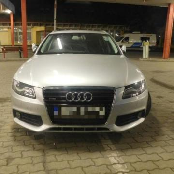 Körözött Audi Csanádpalotánál