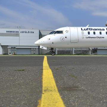 Befektetéseket is hozott a Lufthansa müncheni járata Debrecenbe