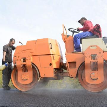 Két és fél milliárd forintos útfelújítás kezdődött megyénkben