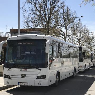 A májusi hosszú hétvége miatt változik a megyei buszmenetrend