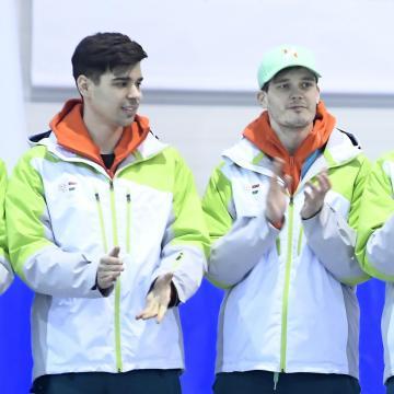Az Olimpiai Bajnokok Klubja köszöntette a pécsi győzteseket is