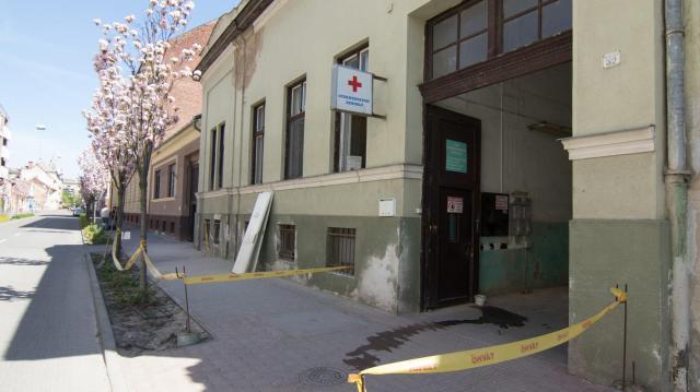 Elkezdődött a Bajcsy-Zsilinszky utcai orvosi rendelőknek helyet adó épület korszerűsítése