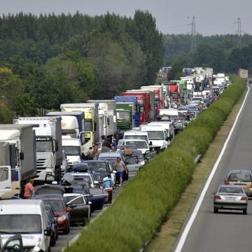 Halálos baleset történt az M3-ason Budapest felé Polgárnál
