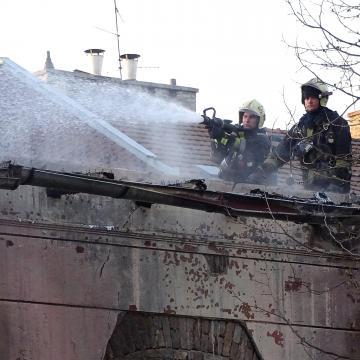 Leégett egy általános iskola tornaterme Szegeden