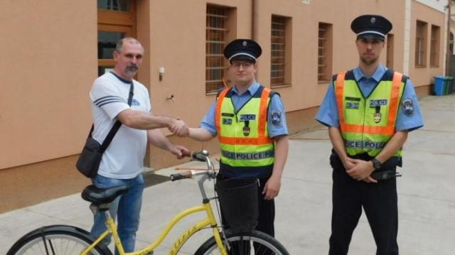 Visszaadták az ellopott kerékpárt
