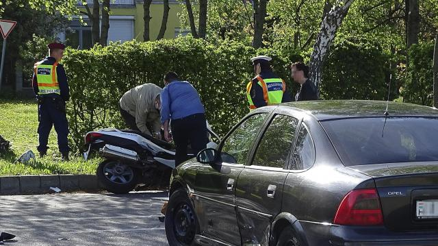 Balesetben meghalt egy motoros Szegeden