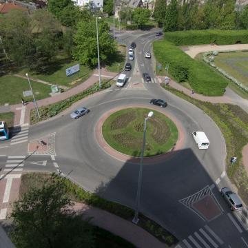 Bővül a debreceni Egyetem téri körforgalom kapacitása