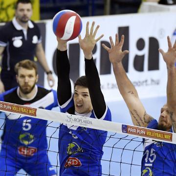 Férfi röplabda NB I - Debrecenben nyert a Pécs