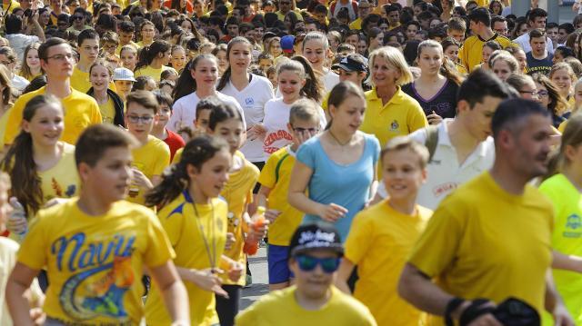 Nárcisznapi futás a méltóság jegyében Debrecenben