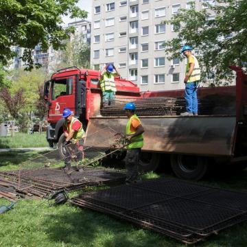Új sportpark épül az Arany János téren