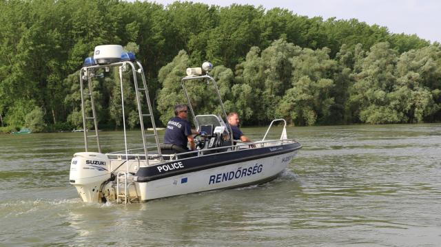 Elkezdték az idei vízi szezont is a rendőrök - VIDEÓVAL