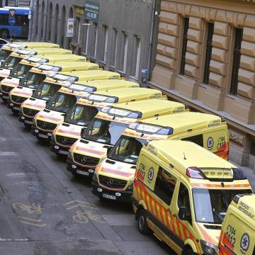 Korszerűbbé vált a mentőszolgálat
