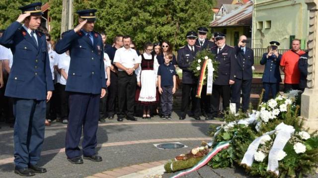 Védőszentjükről is megemlékeztek a tűzoltók