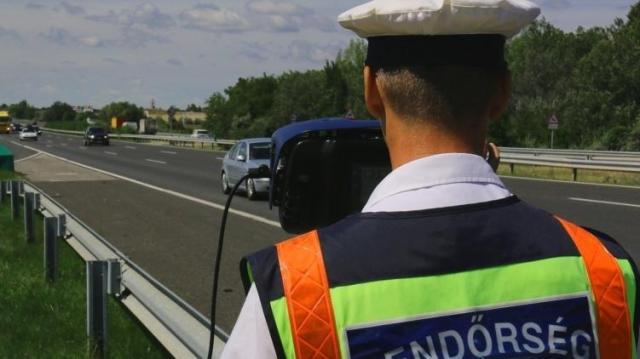 Egész napos sebességellenőrzés - A közlekedők mondták meg hol álljon a traffipax