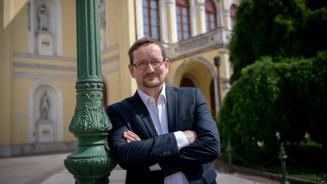 Gemza Péter lesz a debreceni Csokonai Színház új igazgatója