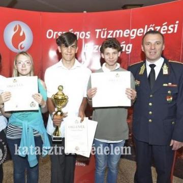 Különdíjat is kaptak az első helyen végző montághos alkotók