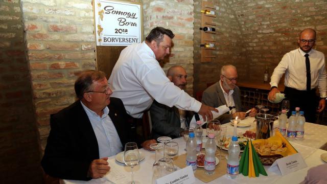 Chardonnay a megye legjobb bora