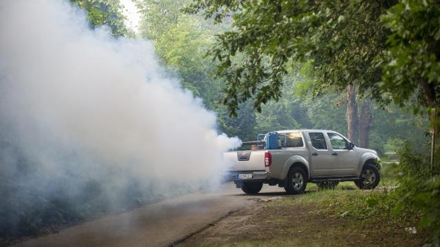 Katasztrófavédők a vakarózás ellen - Újabb 60 ezer hektáron irtják a szúnyogokat