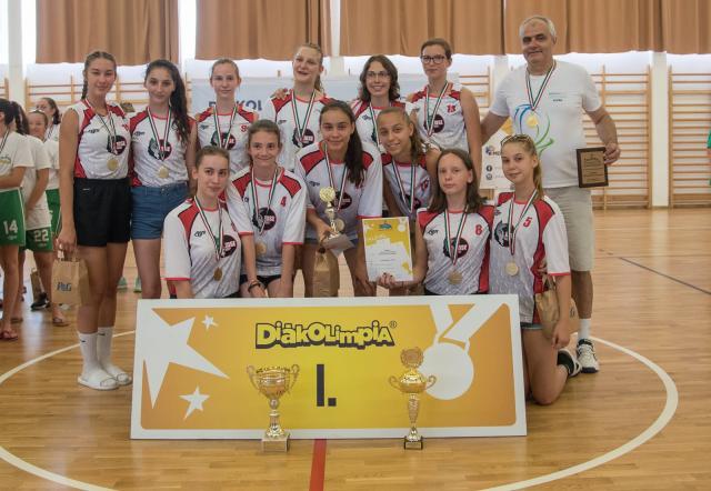 Pécsváradi fiúk és sellyei lányok taroltak a diákolimpia országos döntöjében
