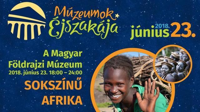 Fókuszban Afrika az érdi Múzeumok Éjszakáján