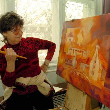 Kilencven éve indult a hortobágyi művésztelep