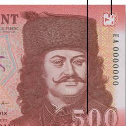 Megújulnak az ötszázforintos bankjegyek