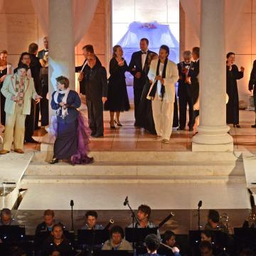 Opera, operett és szimfonikus koncert az Iseumi Szabadtéri Játékokon Szombathelyen