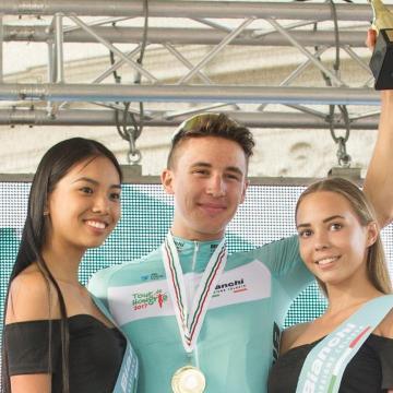 Peák Barnabás és Hajnal Adrienn győzött a kerékpározók időfutam ob-ján Debrecenben