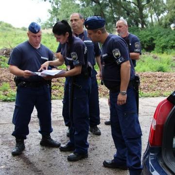 VII. Országos Határrendészeti Járőrverseny