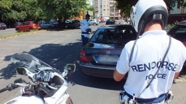 Folyamatos közlekedési ellenőrzések Debrecenben