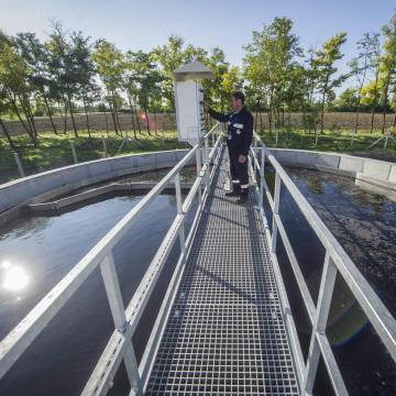 Megkezdődött az új szennyvíztisztító építése Kaposváron