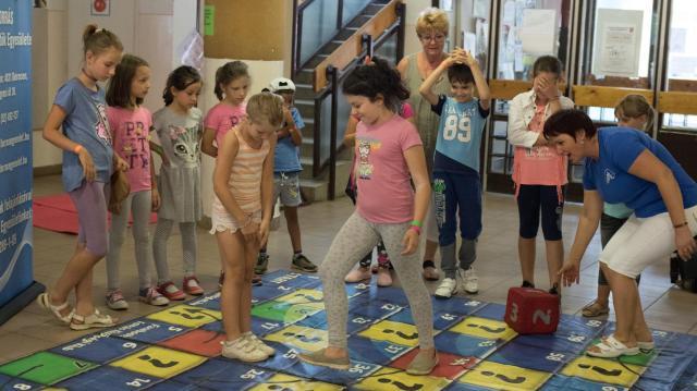 Általános iskolások nyári gyermekfelügyelete