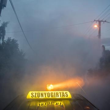 Csaknem százötven településen lesz szúnyogirtás a héten