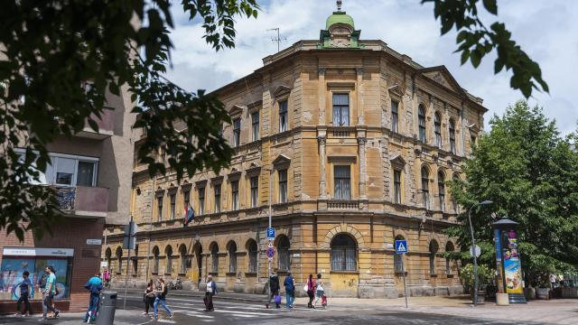 Megkezdődött a debreceni Zenede épületének felújítása